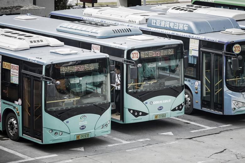 Электробусы Шеньчженя