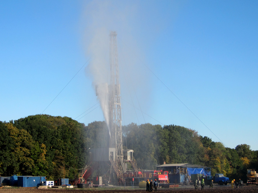 Добування газу і законодавство