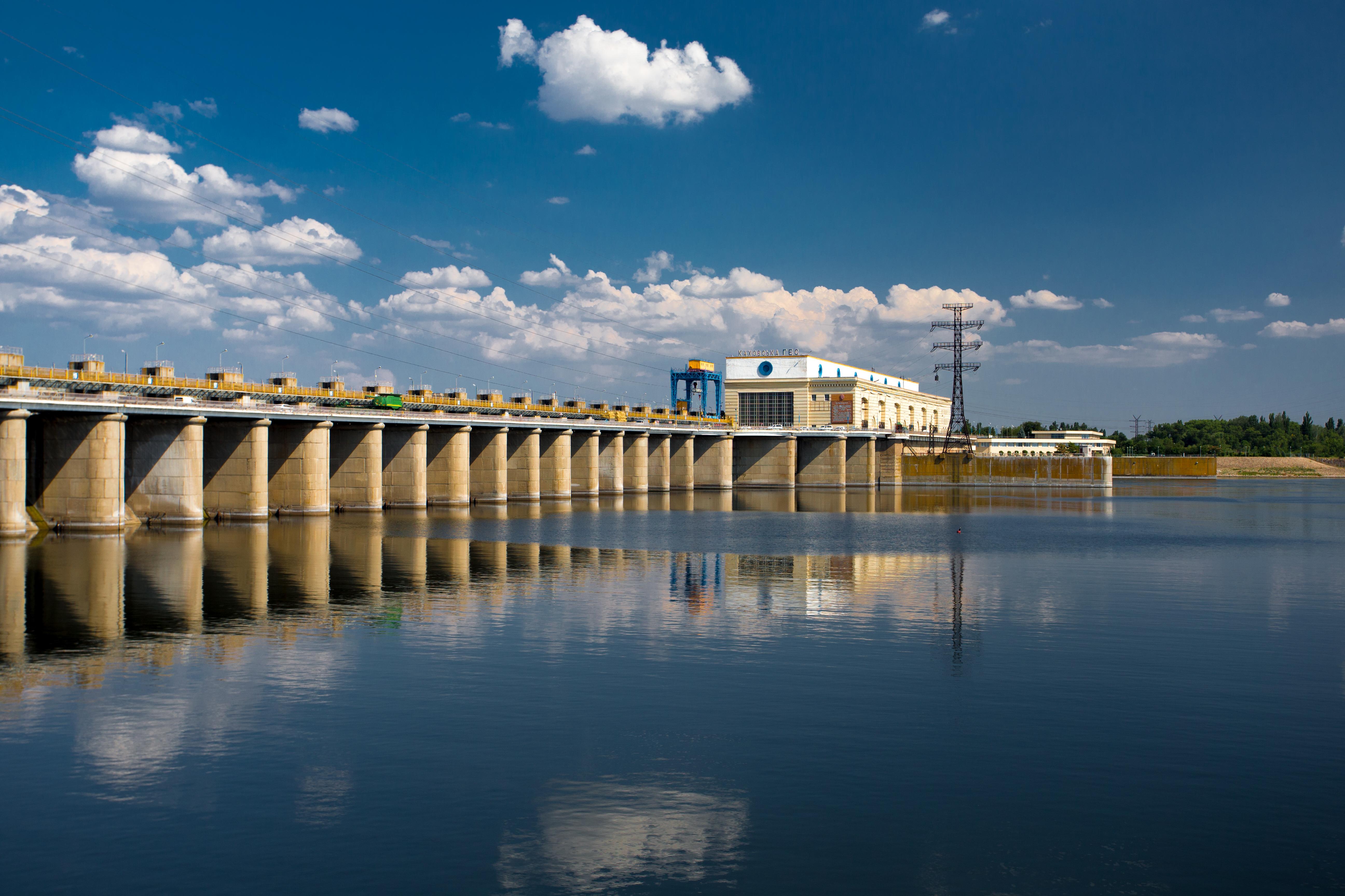 Каховская ГЭС