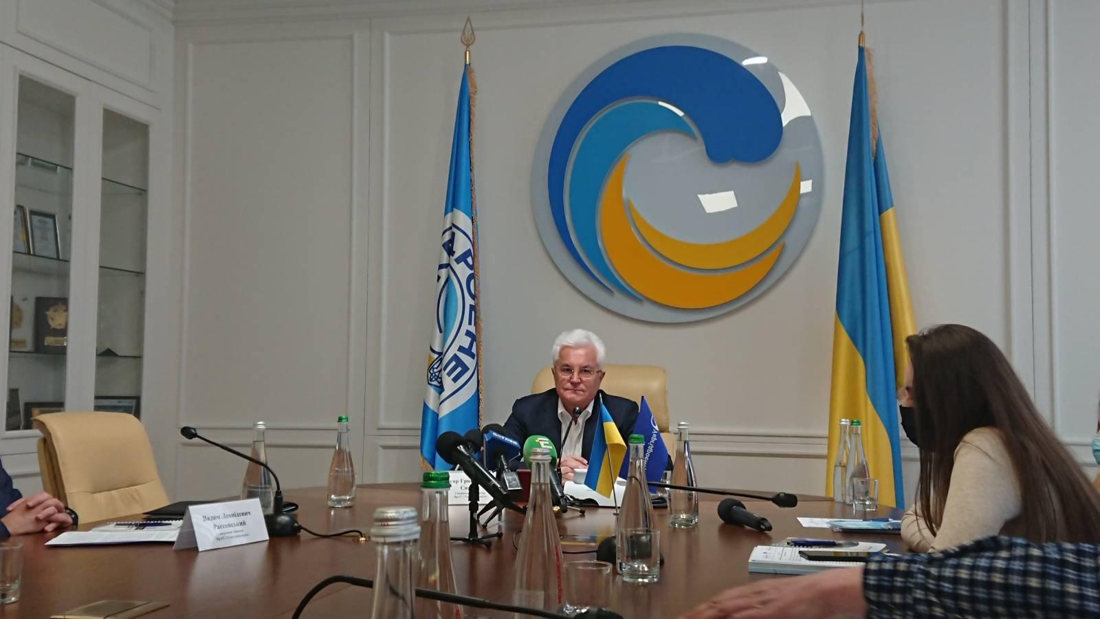 выработка электроэнергии на ГЭС и ГАЭС, Укргидроэнерго, Игорь Сирота