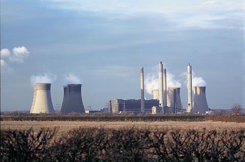 Вугільна електростанція в Британії