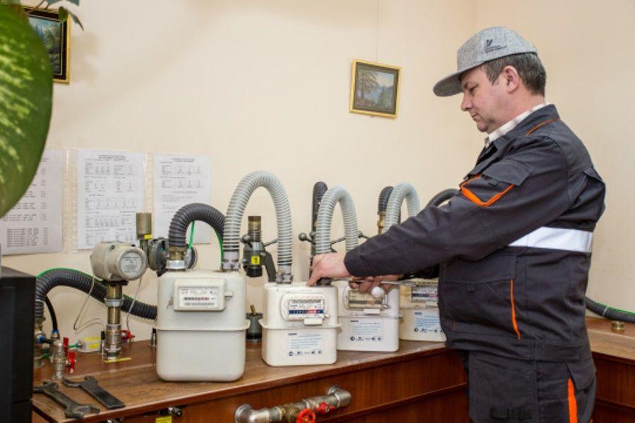 Поверка газовых счетчиков в лаборатории облгаза