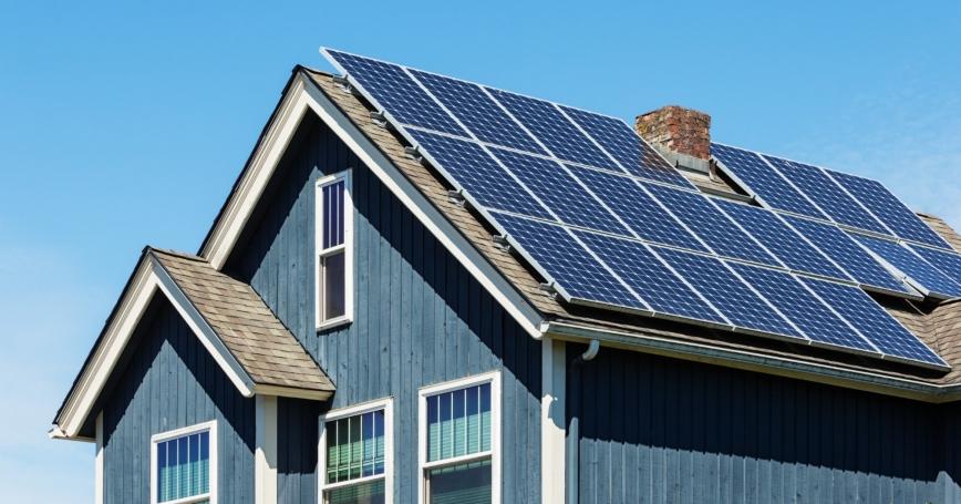 С начала года население установило 33 МВт бытовых СЭС – это более 1300 домохозяйств