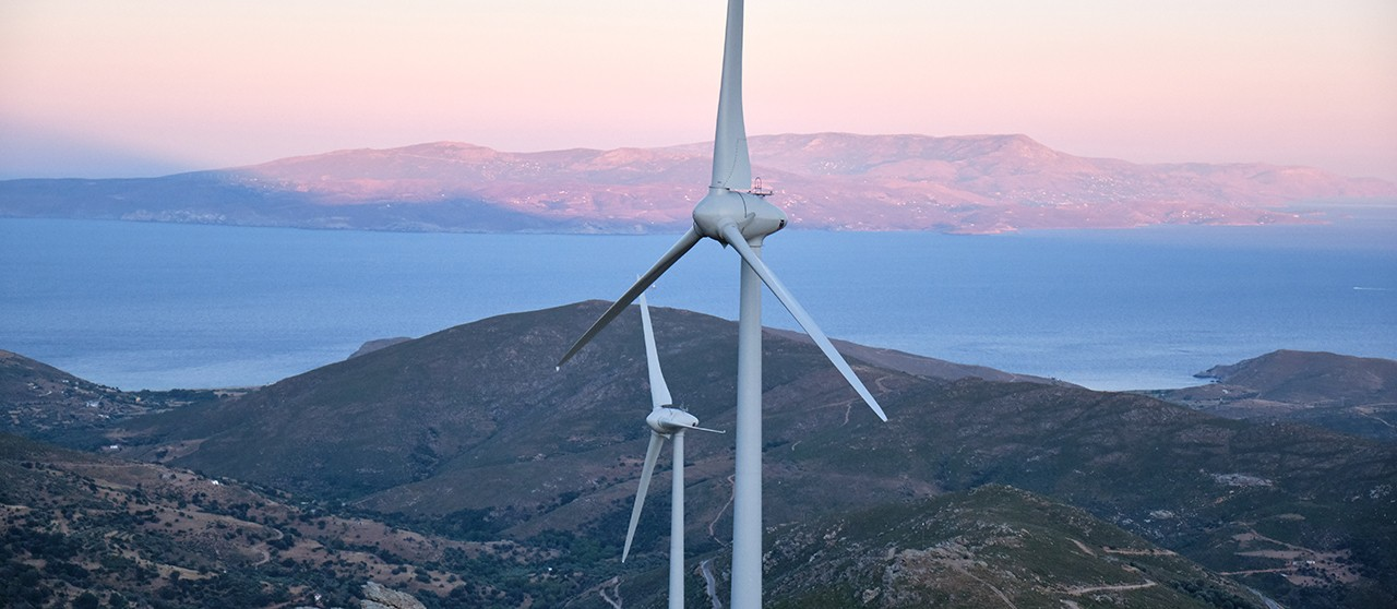 727 MW of new wind farm capacities were introduced in Greece in 2019