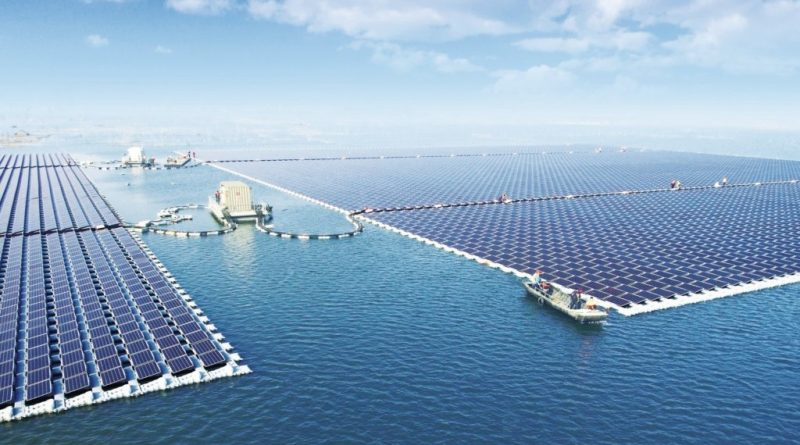 Floating SPPs with a total capacity of 5.3 GW is being built In India