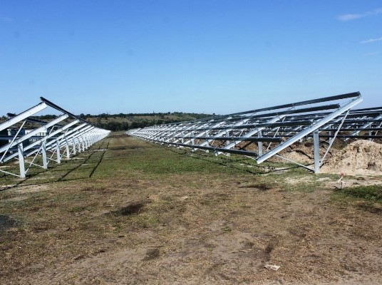 A solar station with a capacity of 17.7 MW is being built in Odesa region