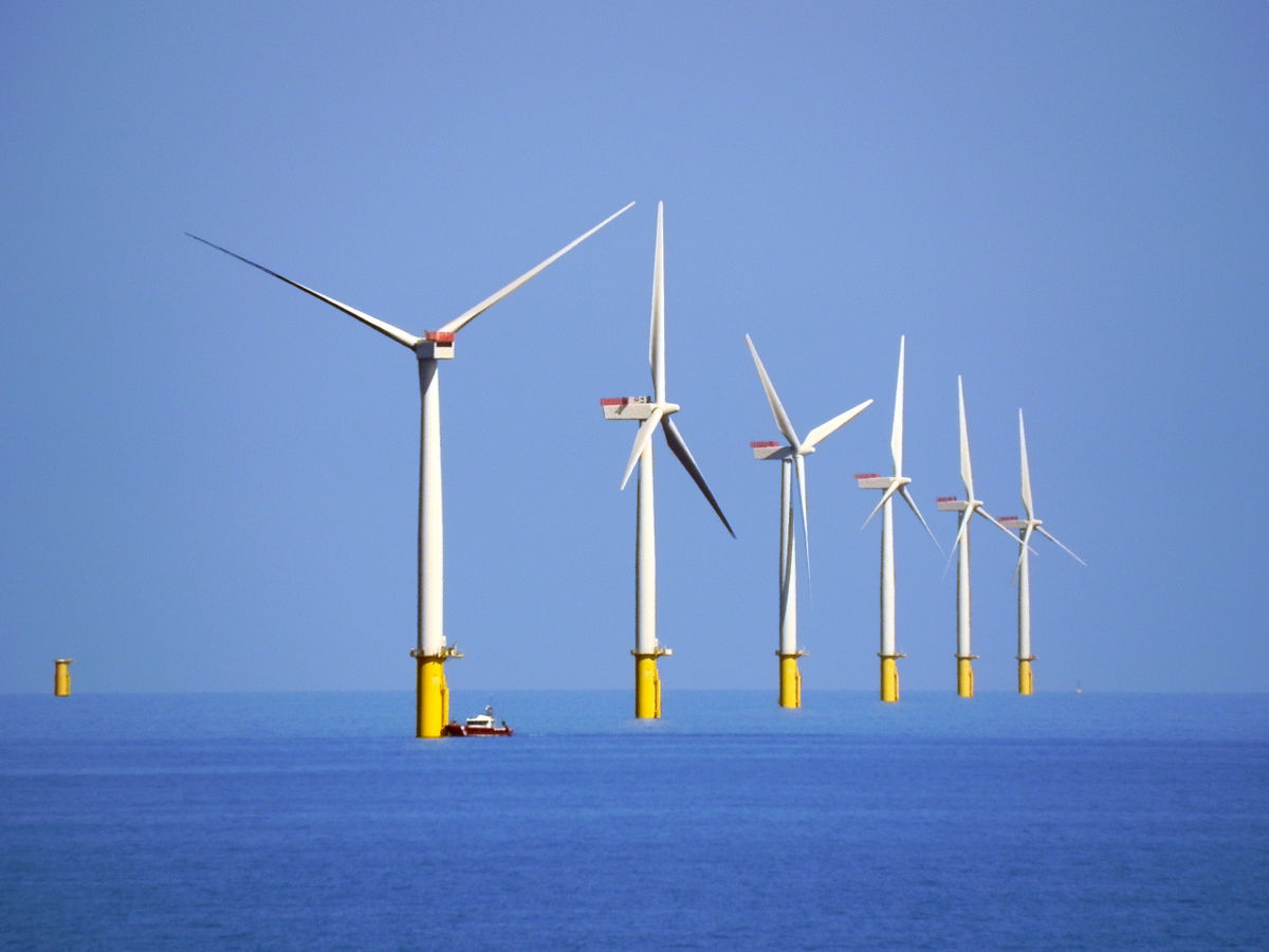 The capacity of offshore wind farms in Europe will increase to 240 GW