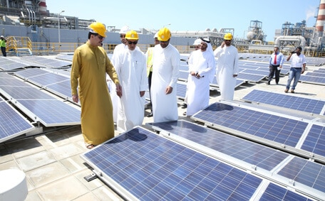 "United Arab Emirates invests $105 million in the world's ""green"" energy"