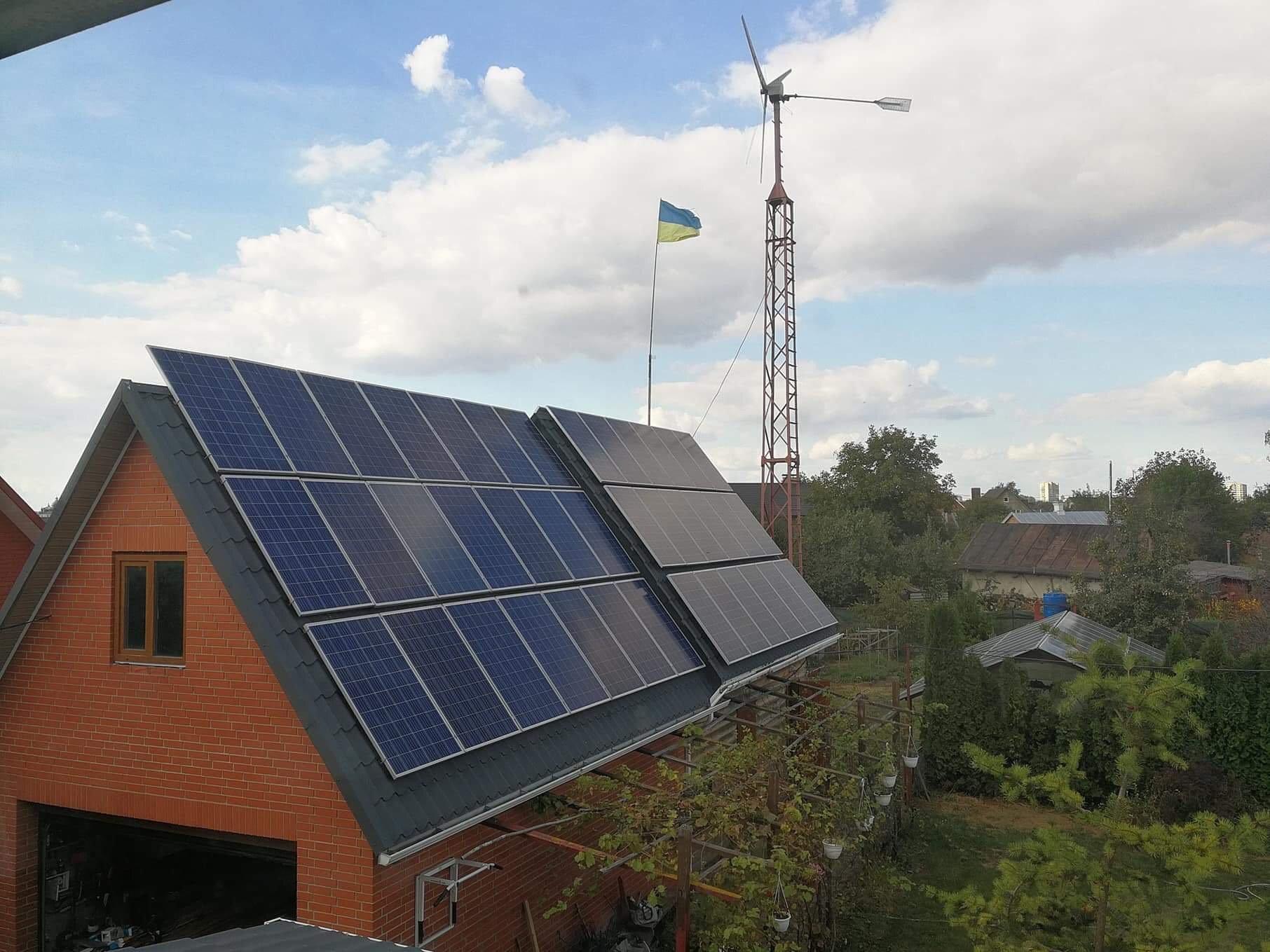 Українці інвестували 600 млн євро у домашні сонячні станції