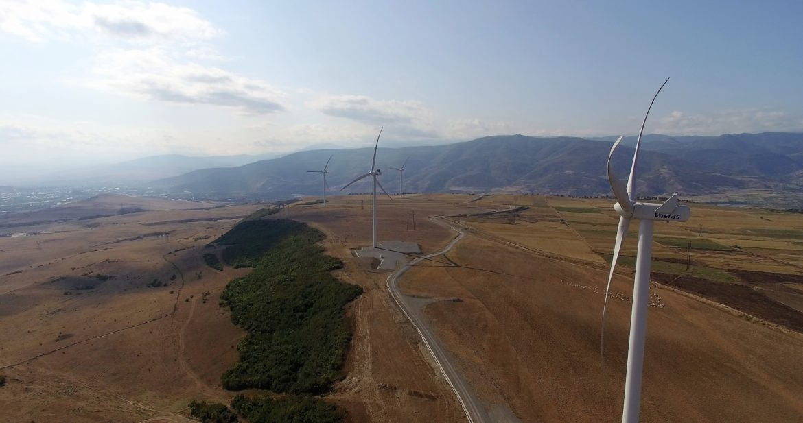 Georgia to sell the only wind farm