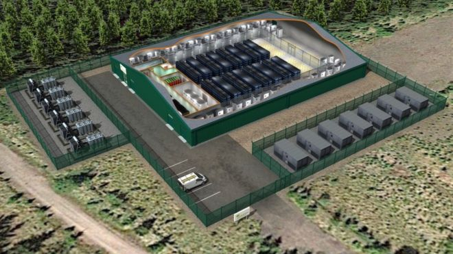 A  battery will be built  for Whitelee wind farm