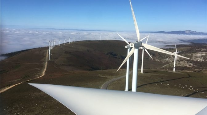 Spain launched 111 MW wind farm