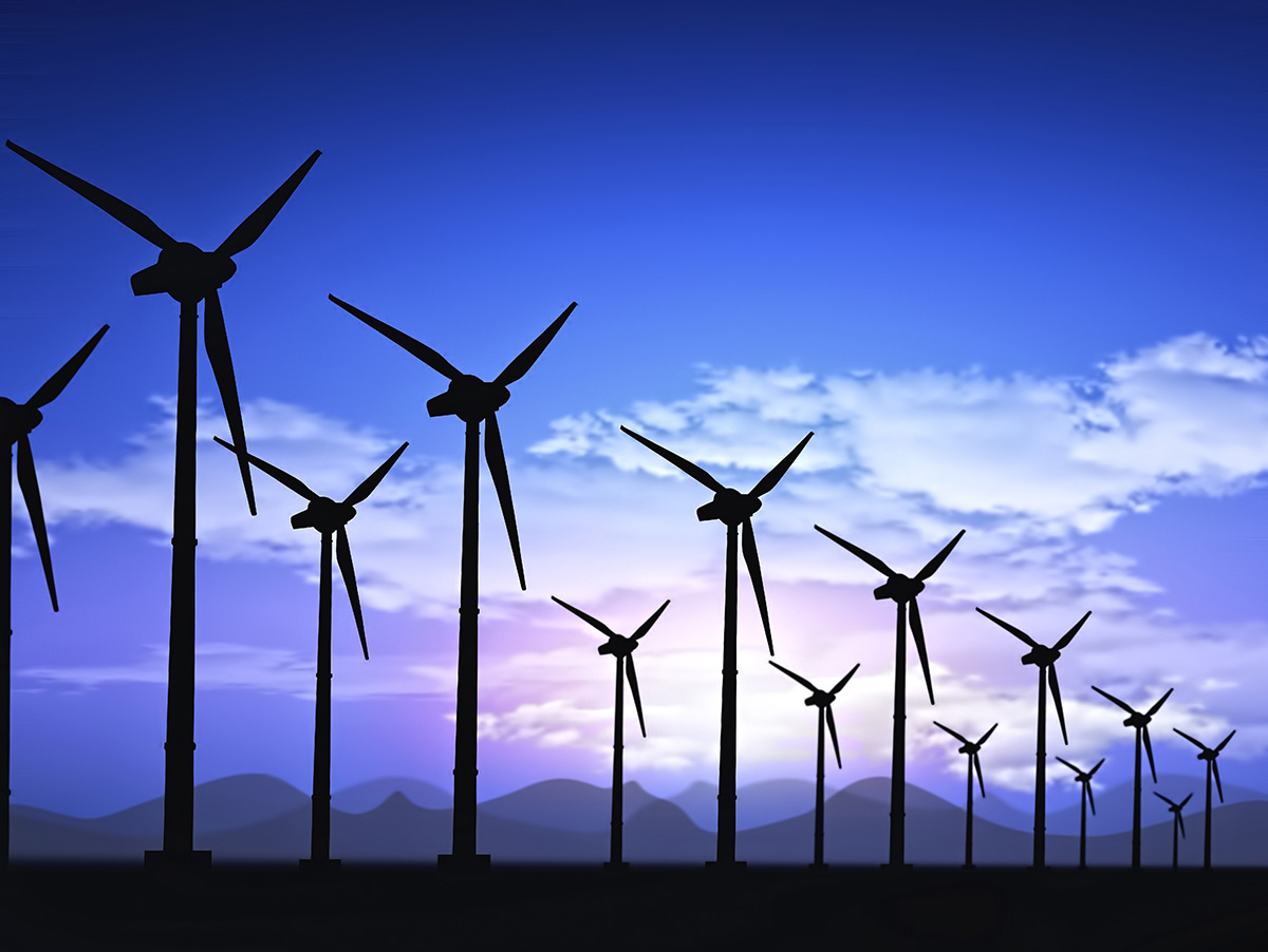 The installed capacity of global wind energy increased by 19% in 2019