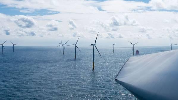 Огромная морская ветряная турбина способна обеспечить работу 18 000 домов в год