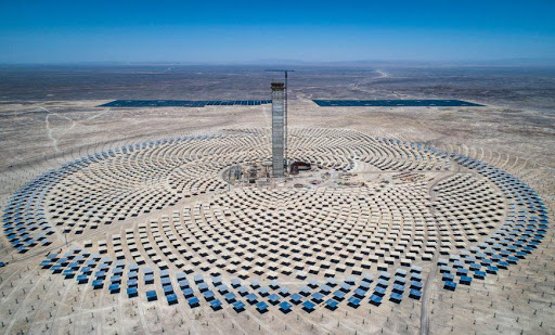 'First concentrated solar thermal plant' in Latin America reaches molten salt milestone