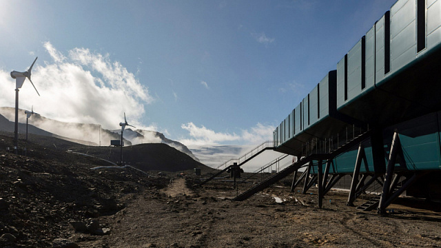 A research station using renewables is being built in Antarctica