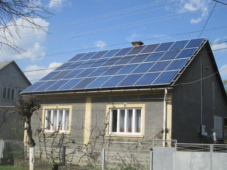 Более 27 тыс. украинских семей используют солнечную электроэнергию