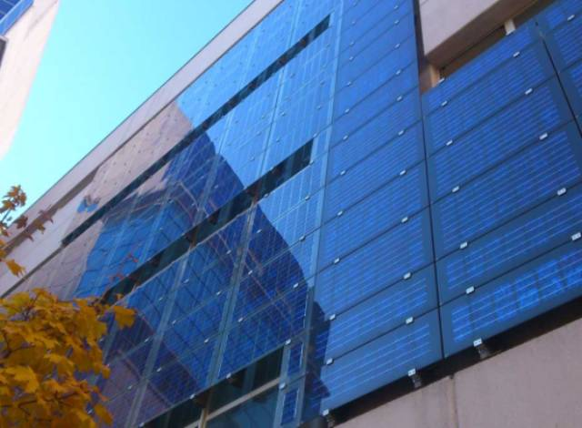 Solar panels were installed on the building of the Ministry of Regional Development