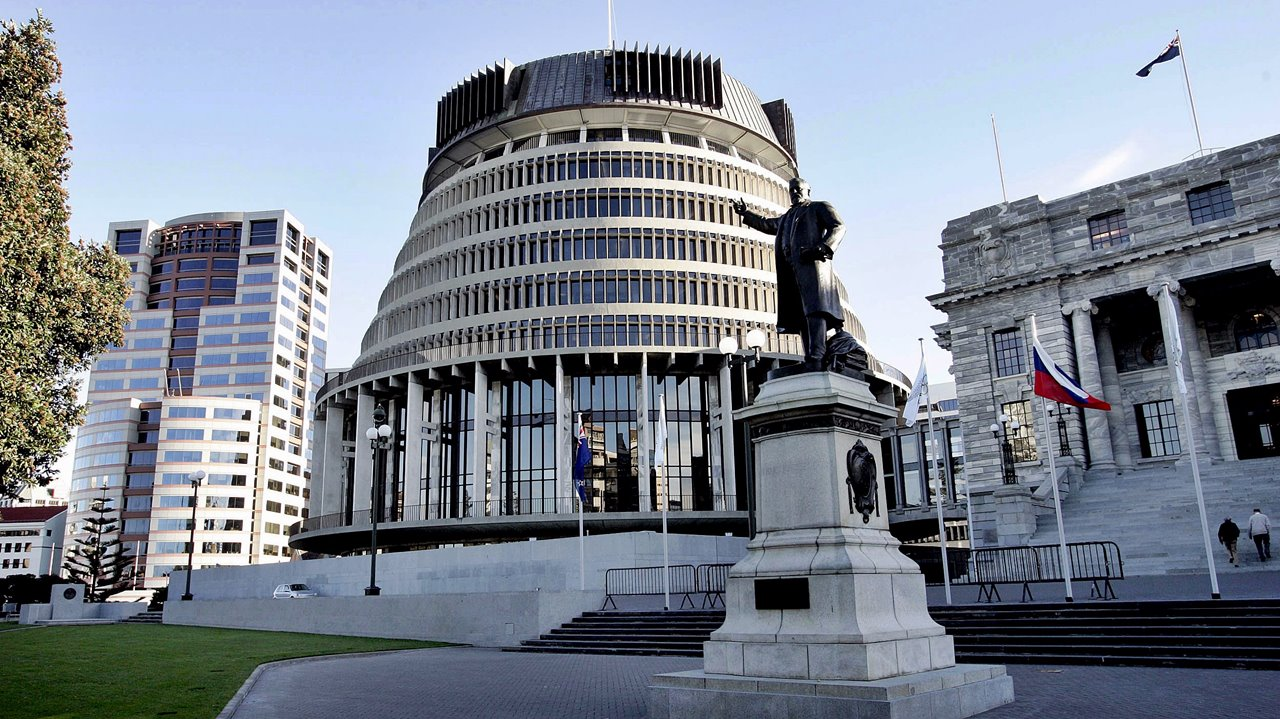 Solar panels to be installed on the parliament building in New Zealand