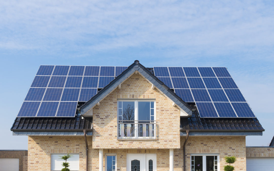 Kyiv region in the TOP-5 leaders in the installation of household solar power plants