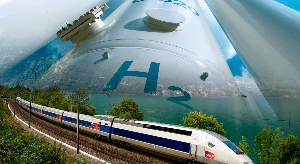 В Австрии испытывают водородный пассажирский поезд
