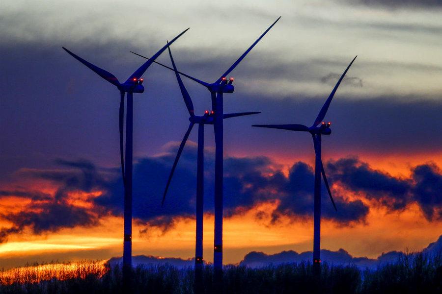 В Украине сейчас строится более 800 МВт новых ветровых электростанций