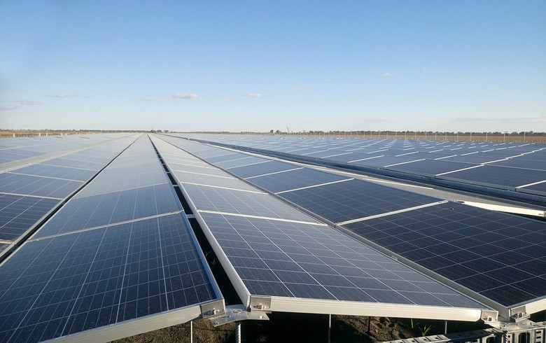 The German company has built a SPP with a capacity of 120 MW in Israel