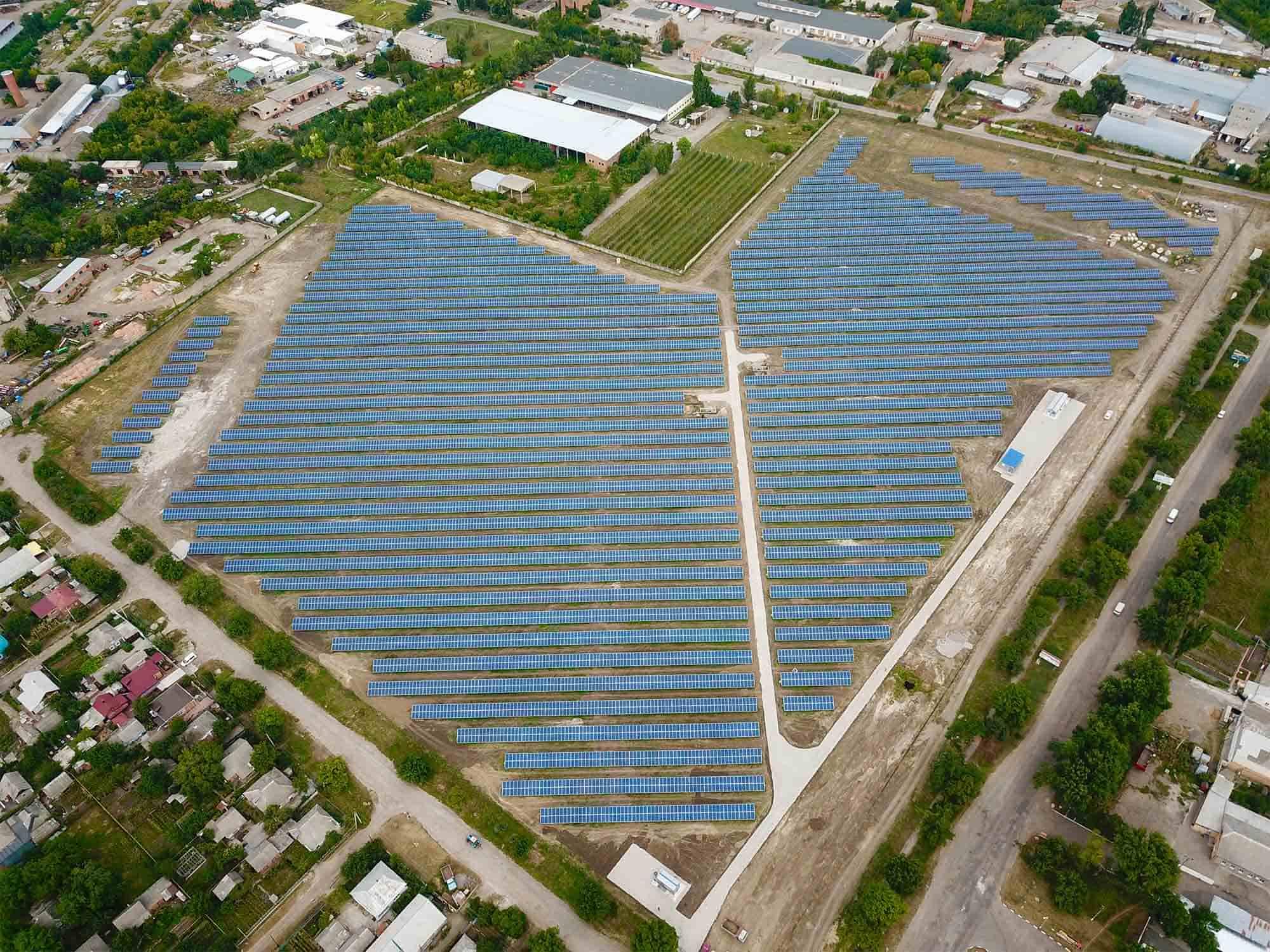 У Миколаївській області запрацювала СЕС потужністю 6,5 МВт
