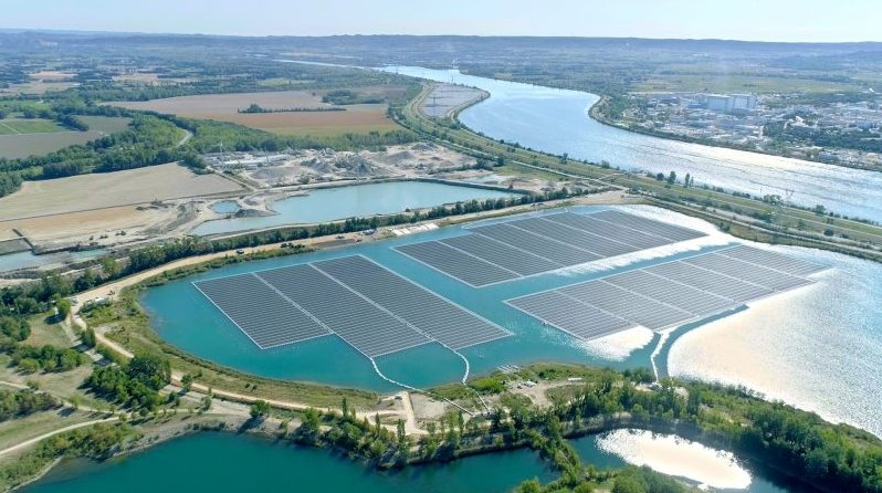 France launched a floating SPP with a capacity of 17 MW