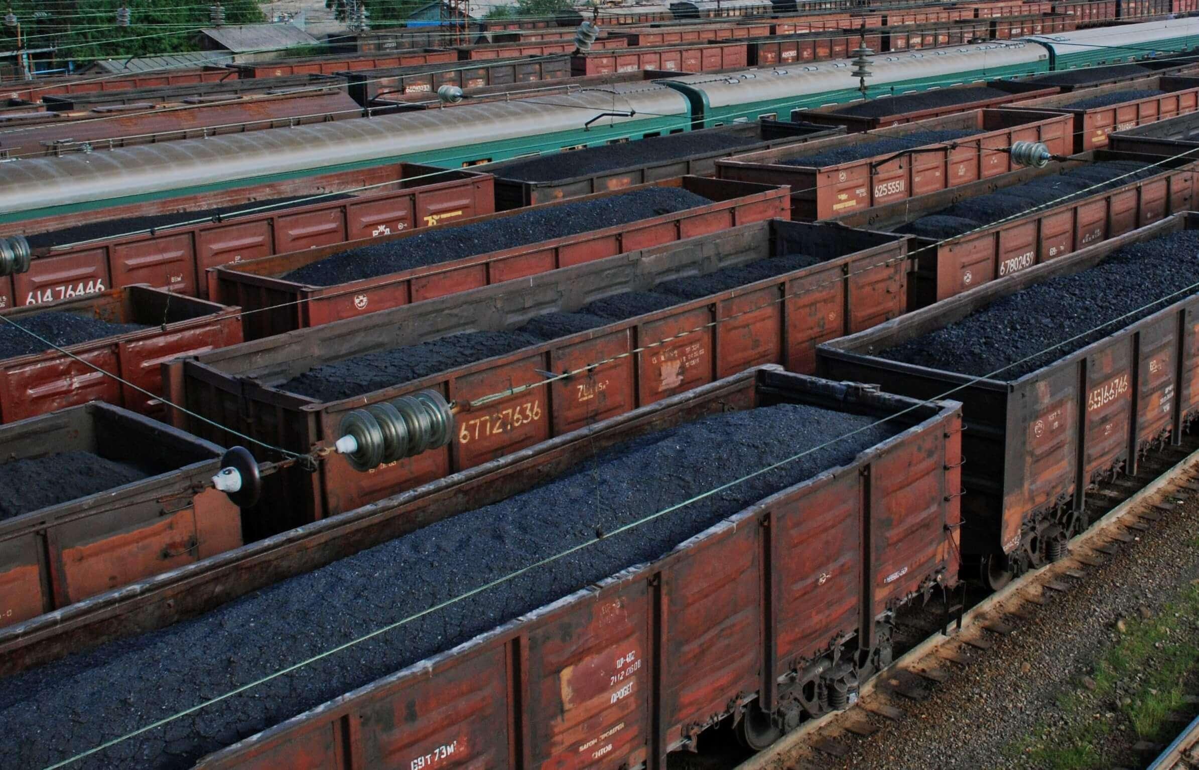 Минэнерго: Укрзализныця не выполняет свои обязательства по перевозке угля