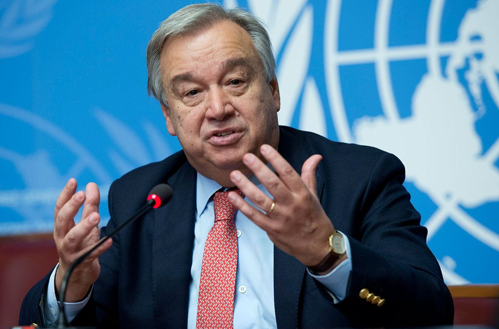 The UN Head calls not to subsidize coal-fired power plants