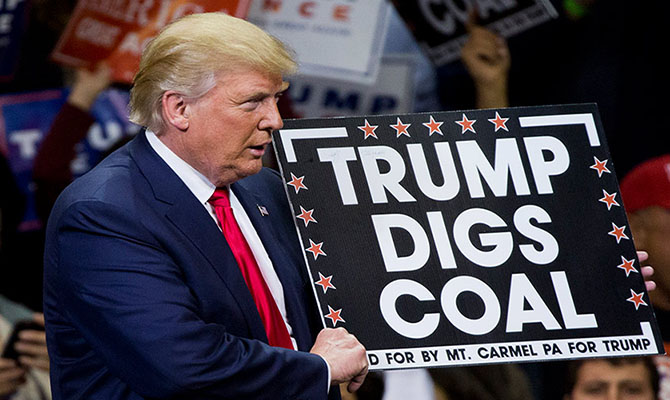 Trump can't stop U.S. coal plants from retiring