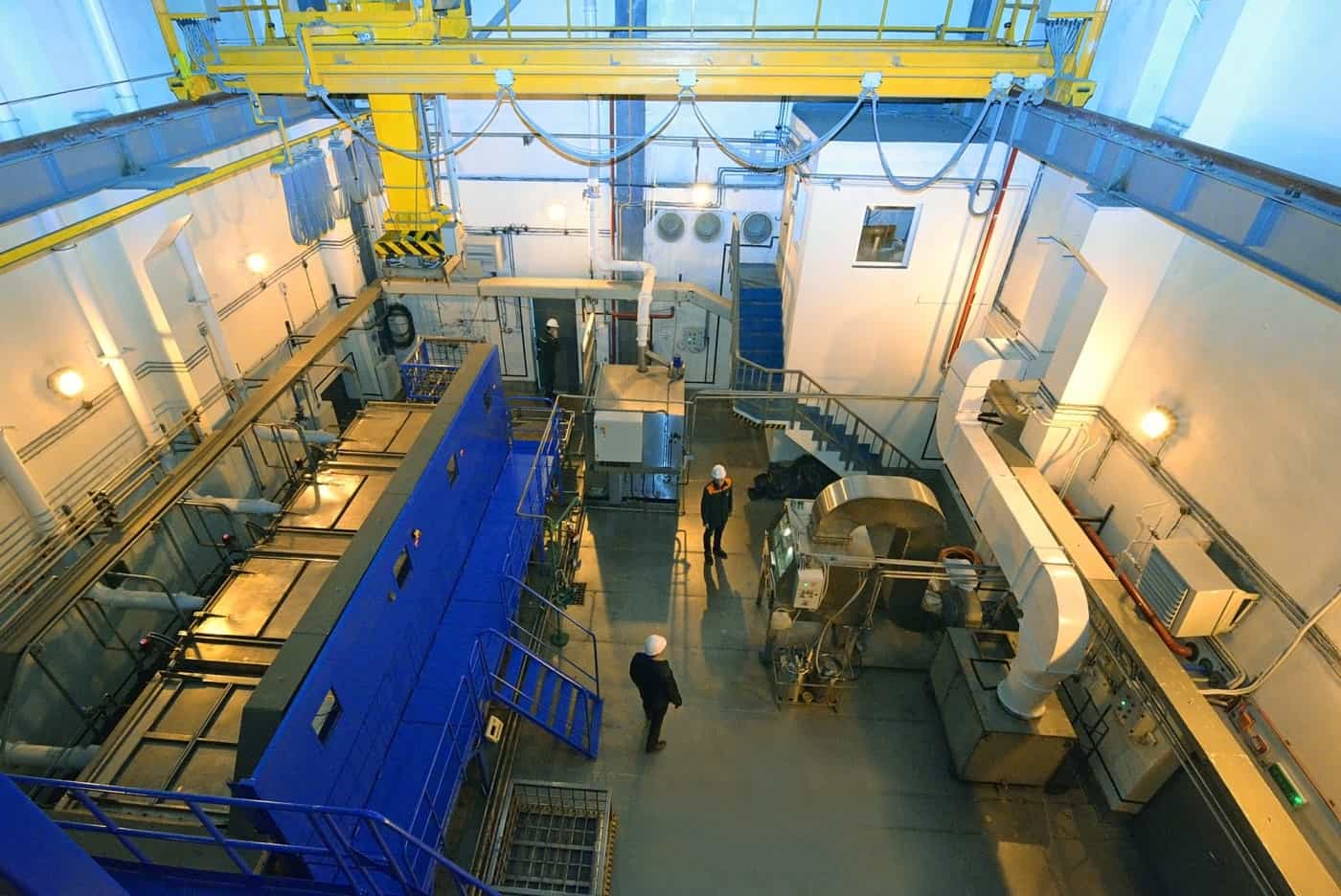 RNPP commissioned a radioactive waste processing complex