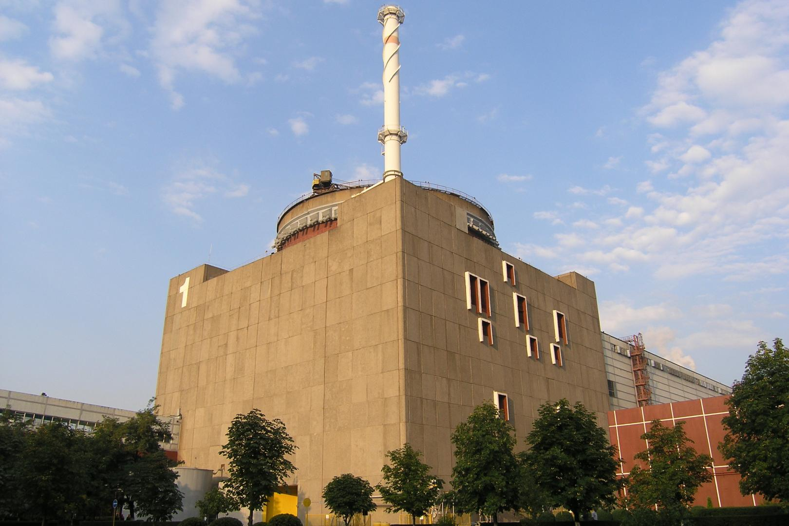 Zaporizhzhia NPP took-down for repairs unit No.1