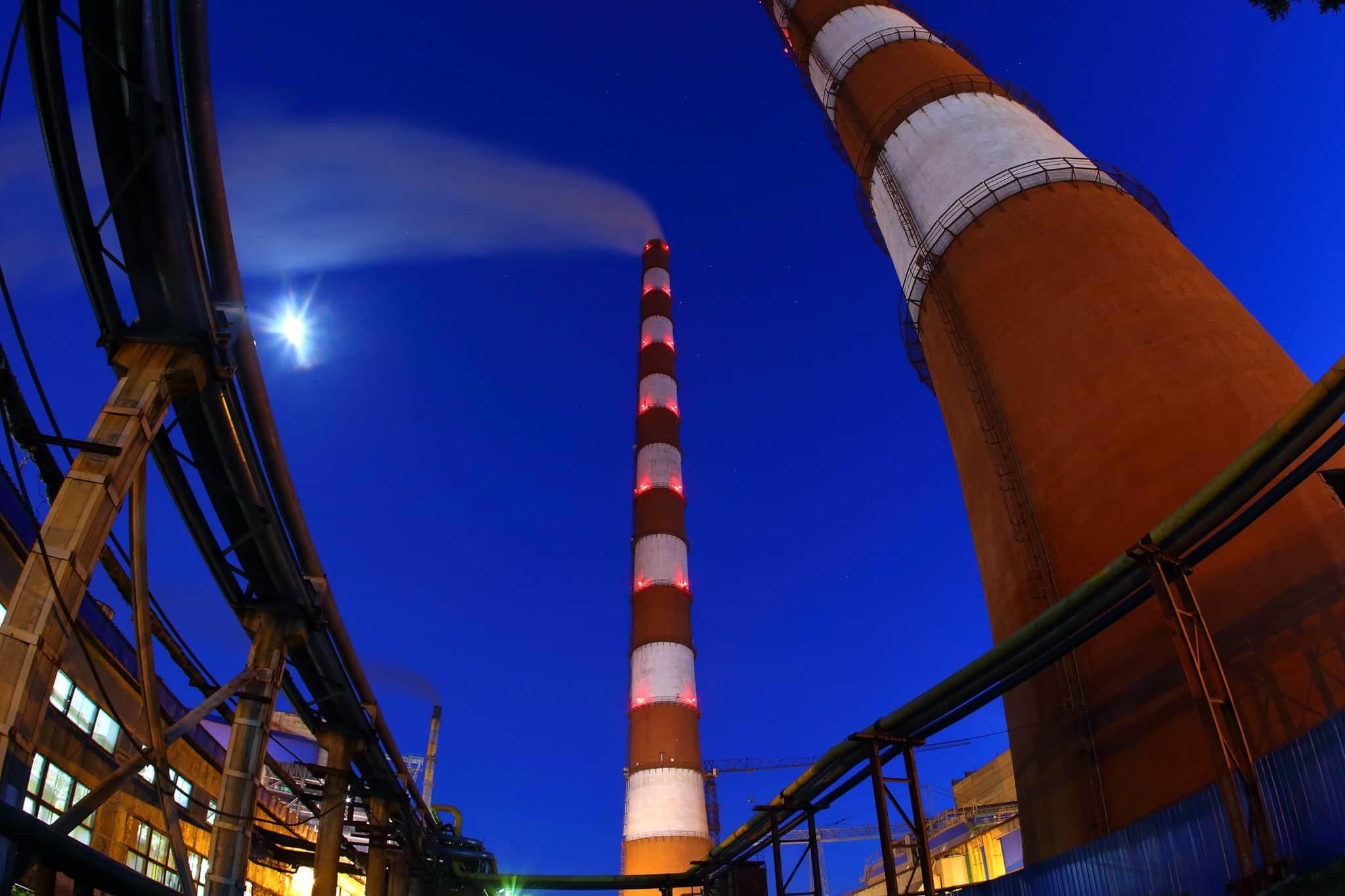 «Донбассэнерго» заявляет об угрозе чрезвычайной ситуации из-за прекращения распределения газа на Славянскую ТЭС