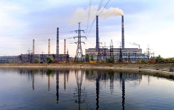 Славянская ТЭС приостановила работу