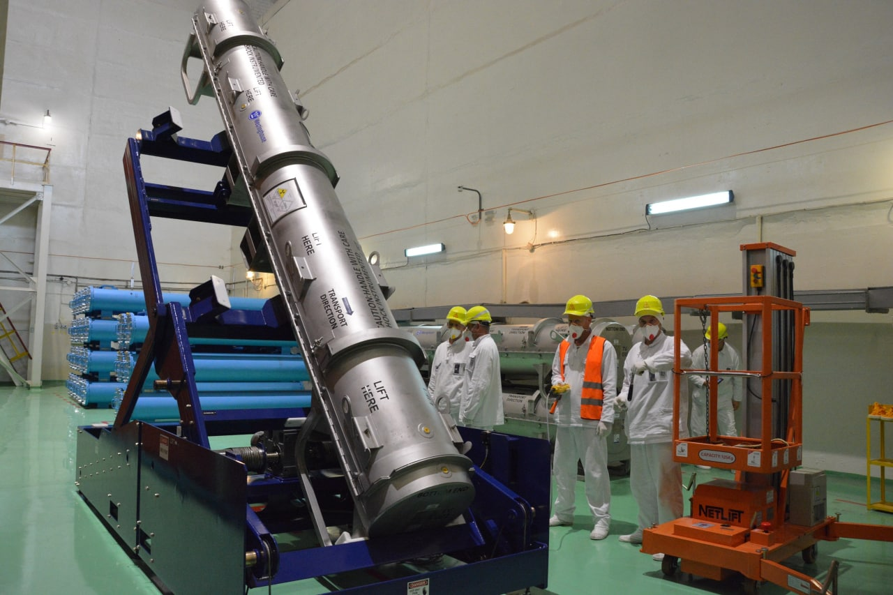 Fuel assemblies manufactured by Westinghouse arrived at Rivne NPP
