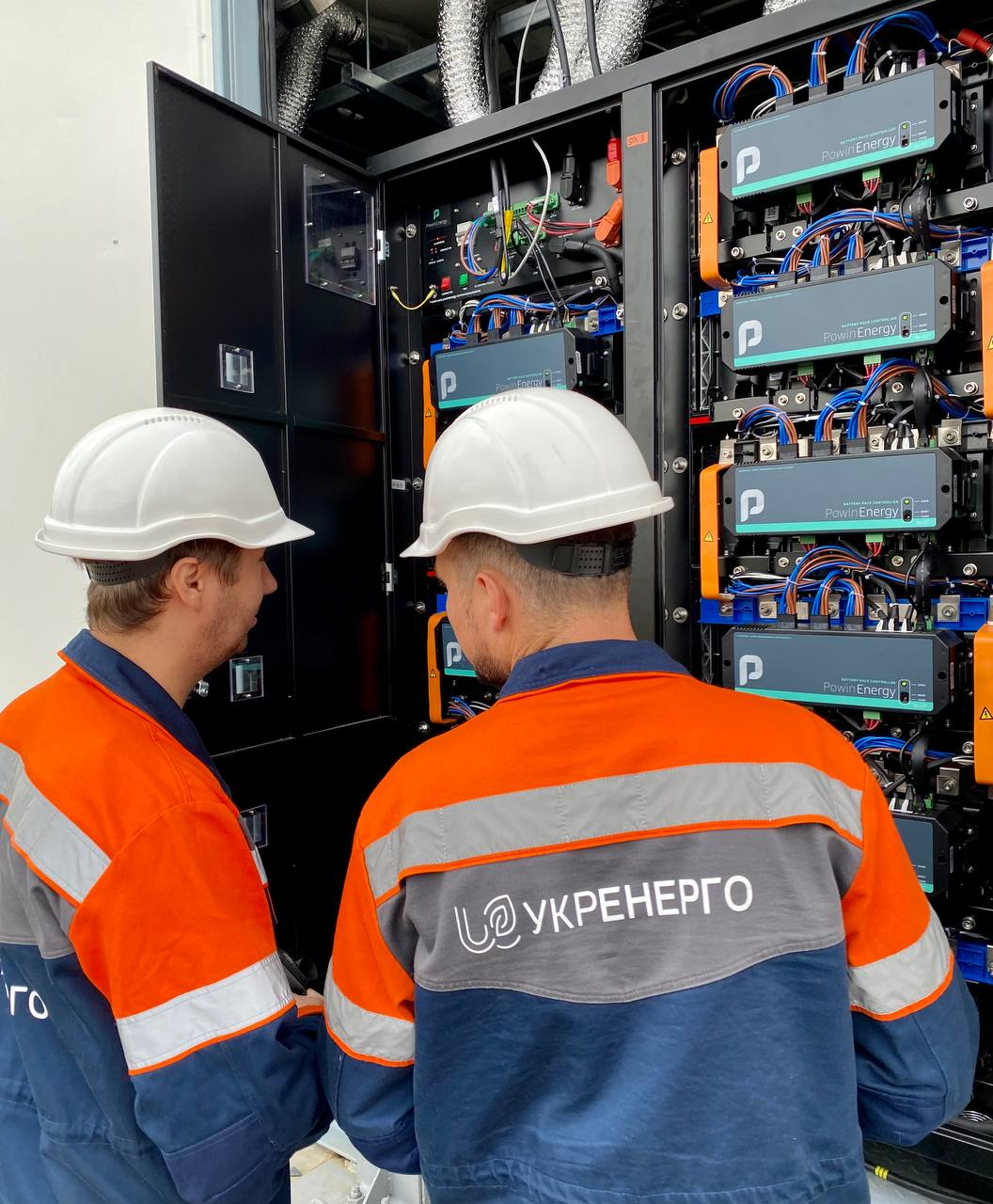 Укрэнерго сертифицировало систему накопления энергии на Запорожской ТЭС