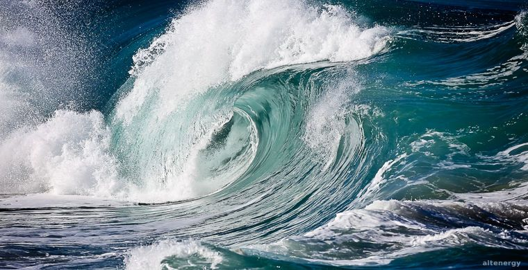 Cheap electricity from sea waves