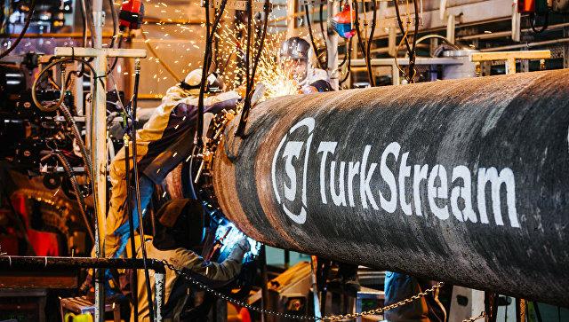В Сербии начали строить участок «Турецкого потока»