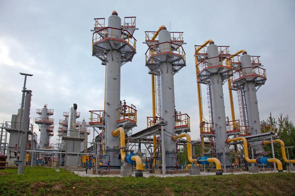 There are 15.9 billion cubic meters of gas in Ukrainian underground gas storages