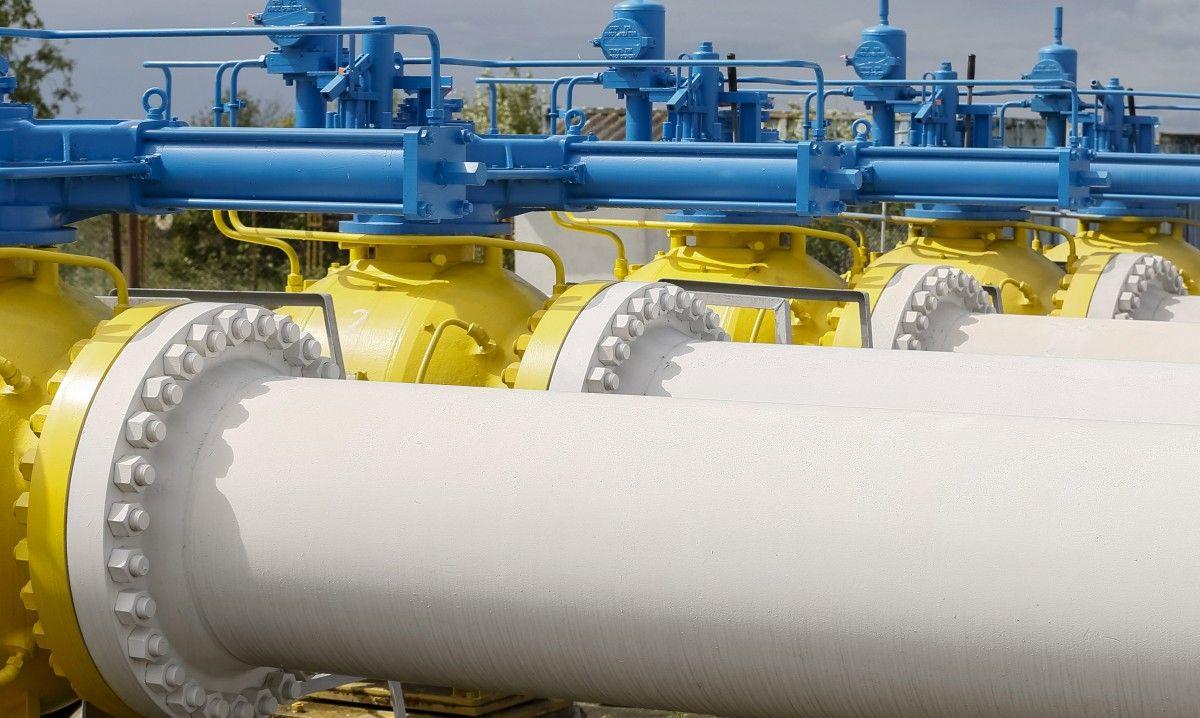 Транзит газа через Украину сократился на 53%