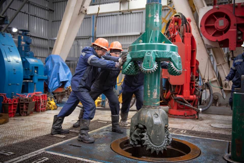 Naftogaz, together with a foreign partner, began drilling at the Shebelinsky field