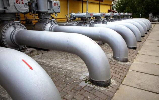 З початку опалювального сезону запаси газу в ПСГ України скоротилися на 10 млрд куб. м