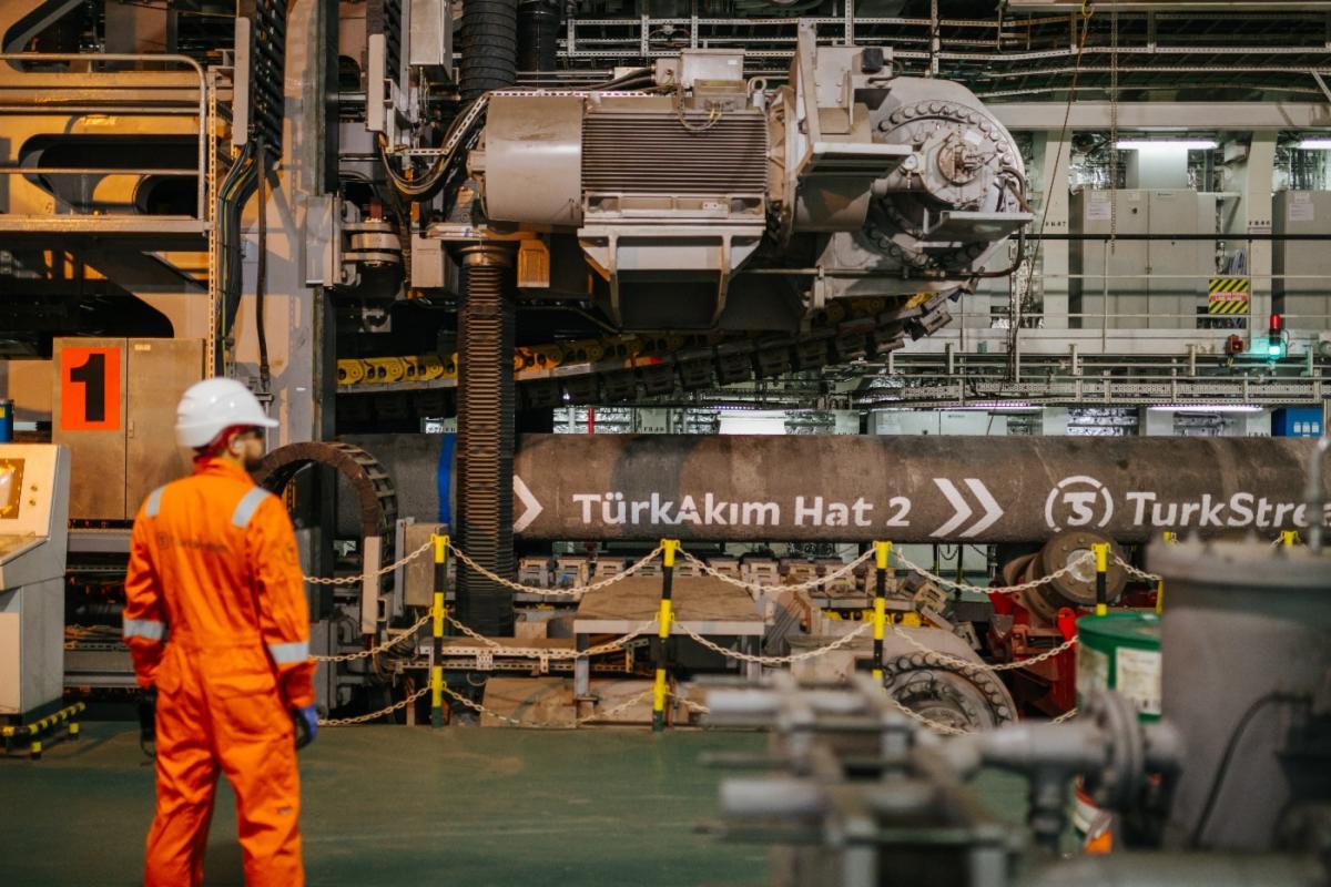 «Турецький потік» прокачав перший мільярд кубометрів газу
