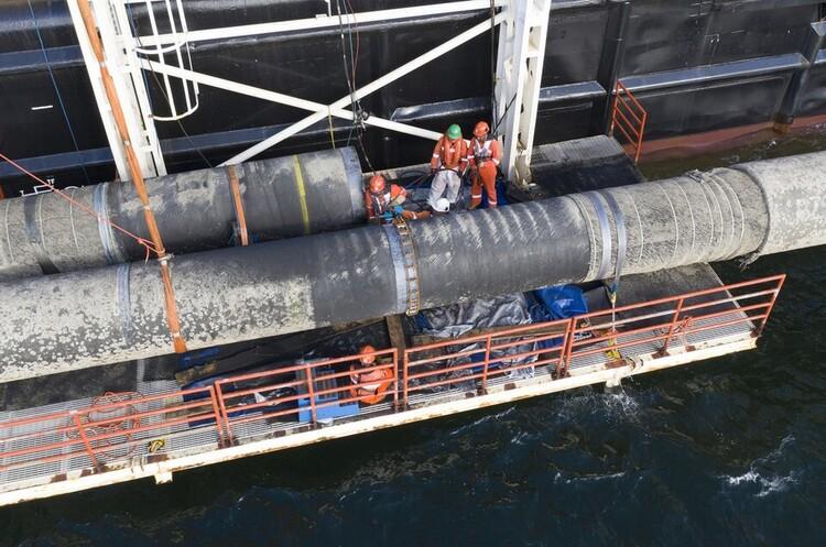 Дания подтвердила возобновление работ над «Северным потоком-2»