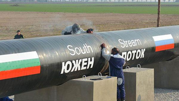 «Газпром» разморозил строительство газопровода «Южный поток»