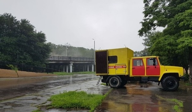 В центрі окупованого Луганська стався вибух на газопроводі