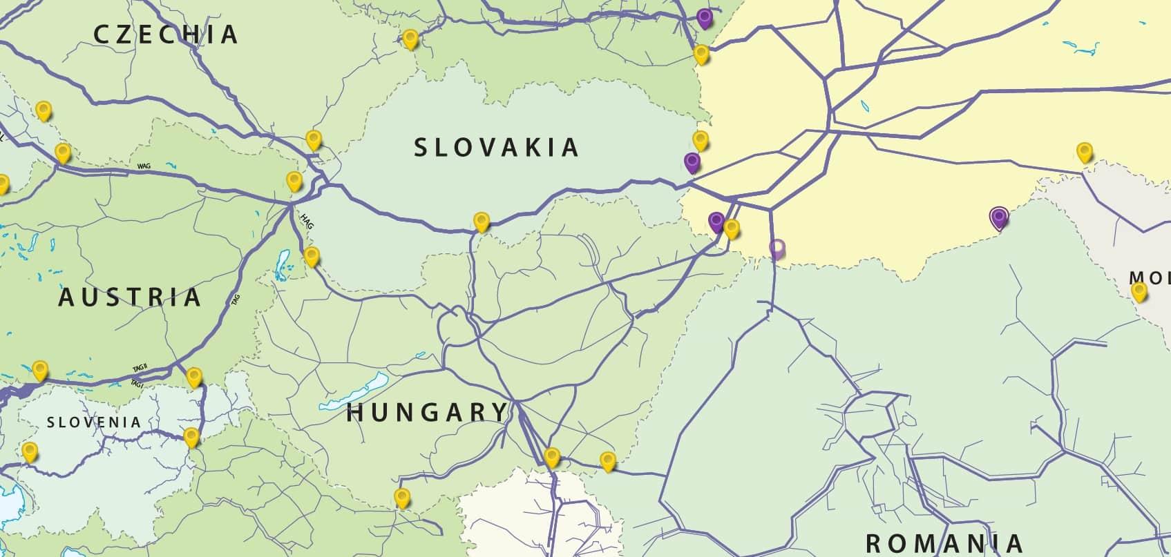 «Укртрансгаз» пропонує Угорщині свої ПСГ у разі зупинки транзиту газу