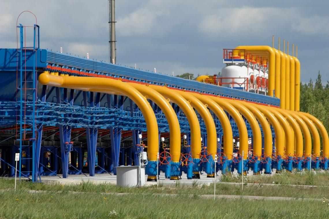 Gas reserves in underground gas storage facilities increased by 20%